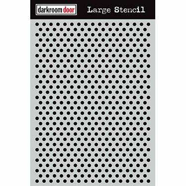 Darkroom Door Stencil Large - Assorted