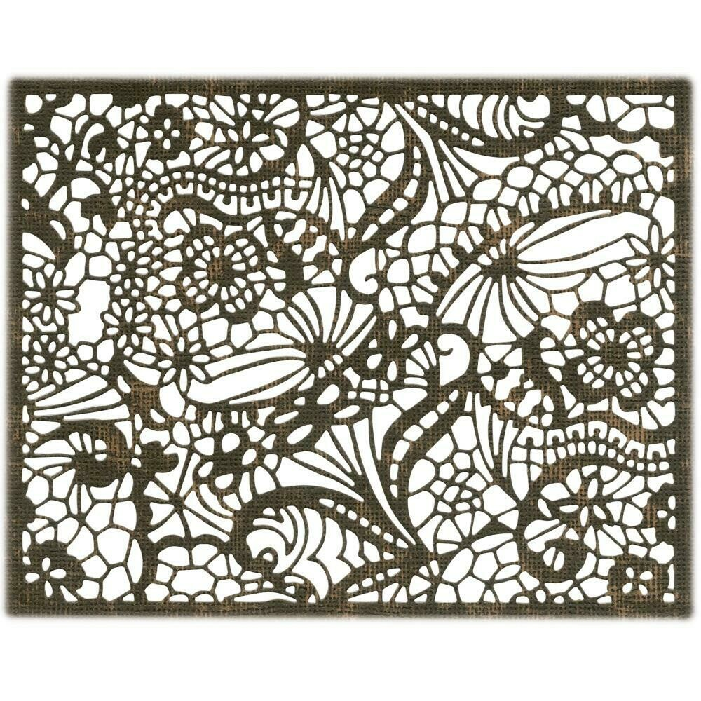 Tim Holtz Sizzix Thinlits Dies Intricate Lace