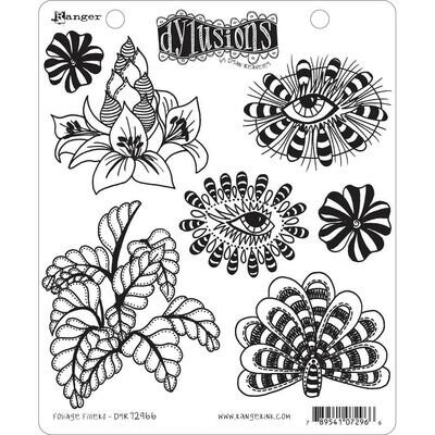 Dyan Reaveley's Dylusions Cling Stamp Foliage Fillers