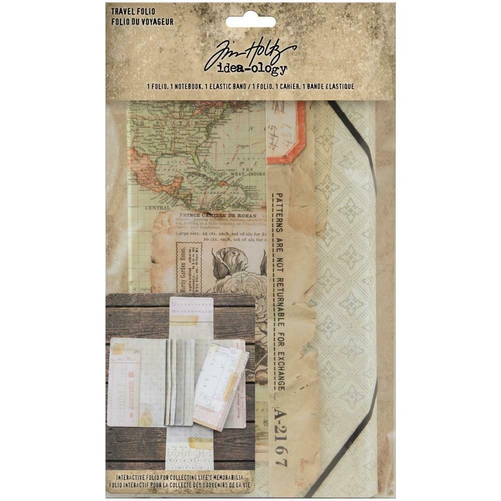 Tim Holtz Idea-Ology Travel Folio