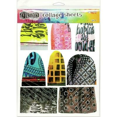Dyan Reaveley's Dylusions Collage Sheets 8.5