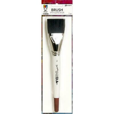 "Dina Wakley Media Stiff Bristle Brush 2"""