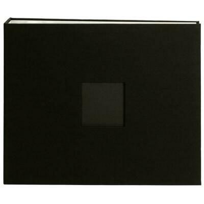 "American Crafts D-Ring Cloth Album w/Window 12""X12"""