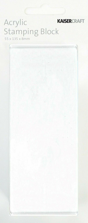Kaisercraft Acrylic Stamping Block