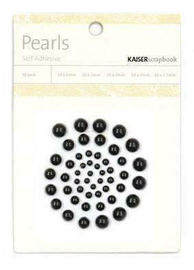 Kaisercraft Pearls - Assorted