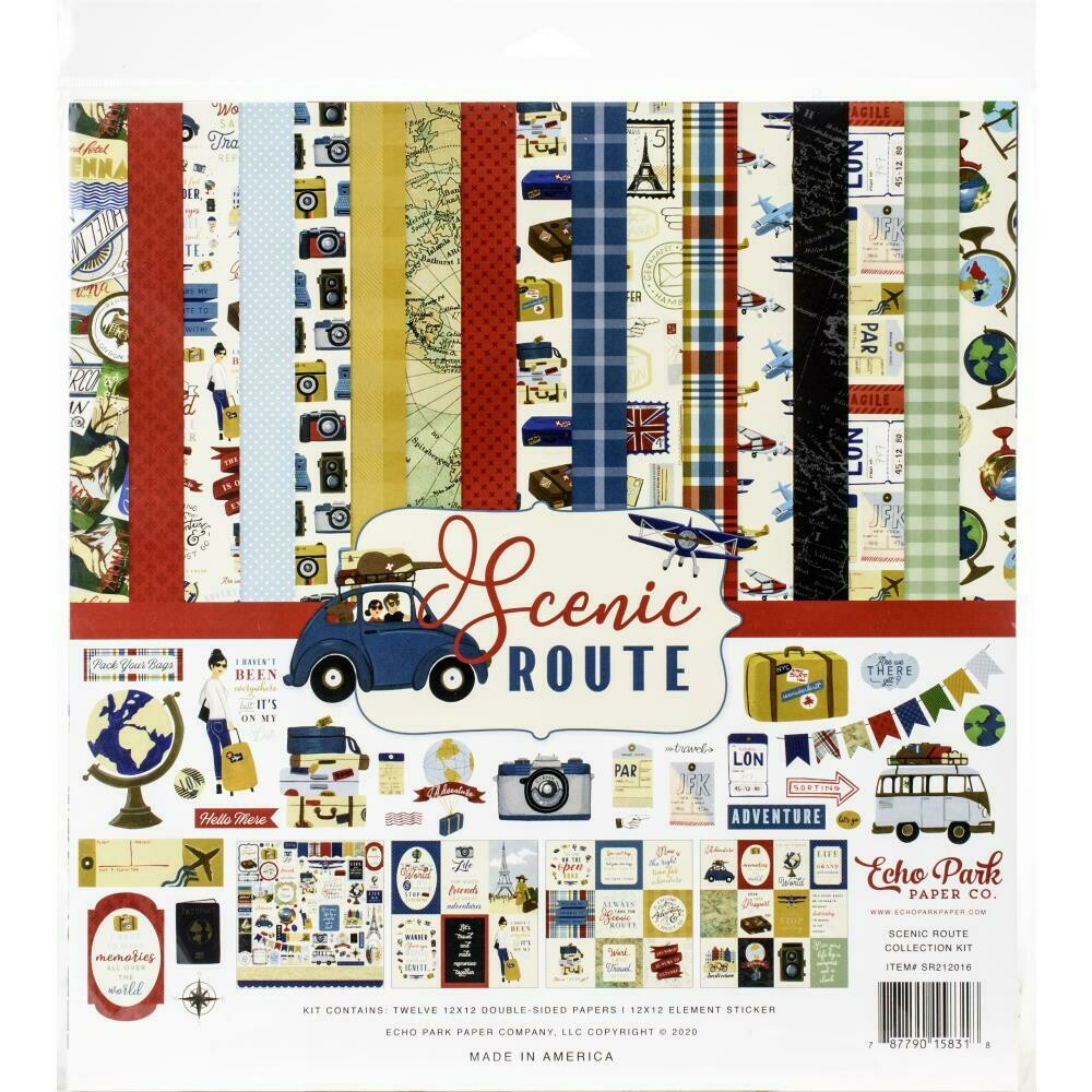 Echo Park Scenic Route Collection - Assorted