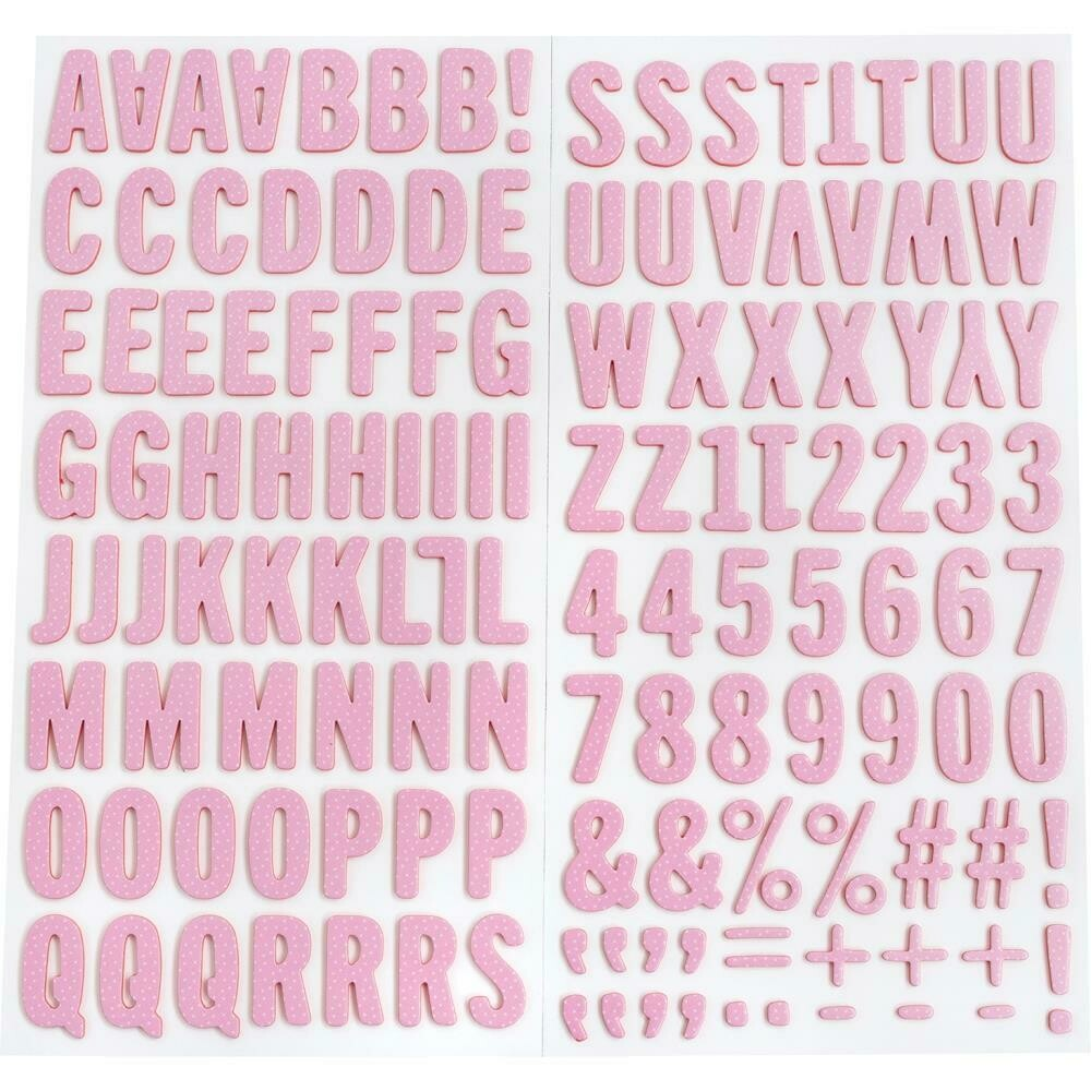 American Crafts Thickers Hey by Jen Hadfield 138/pkg