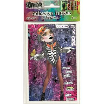 Dyan Reaveley's Dylusions Adhesive Canvas assorted