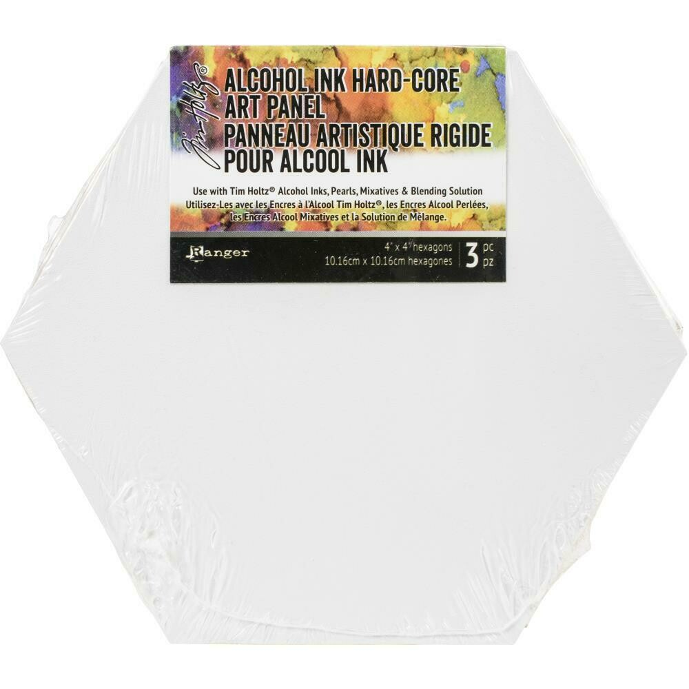 Tim Holtz Alcohol Ink Hard-Core Art Panel