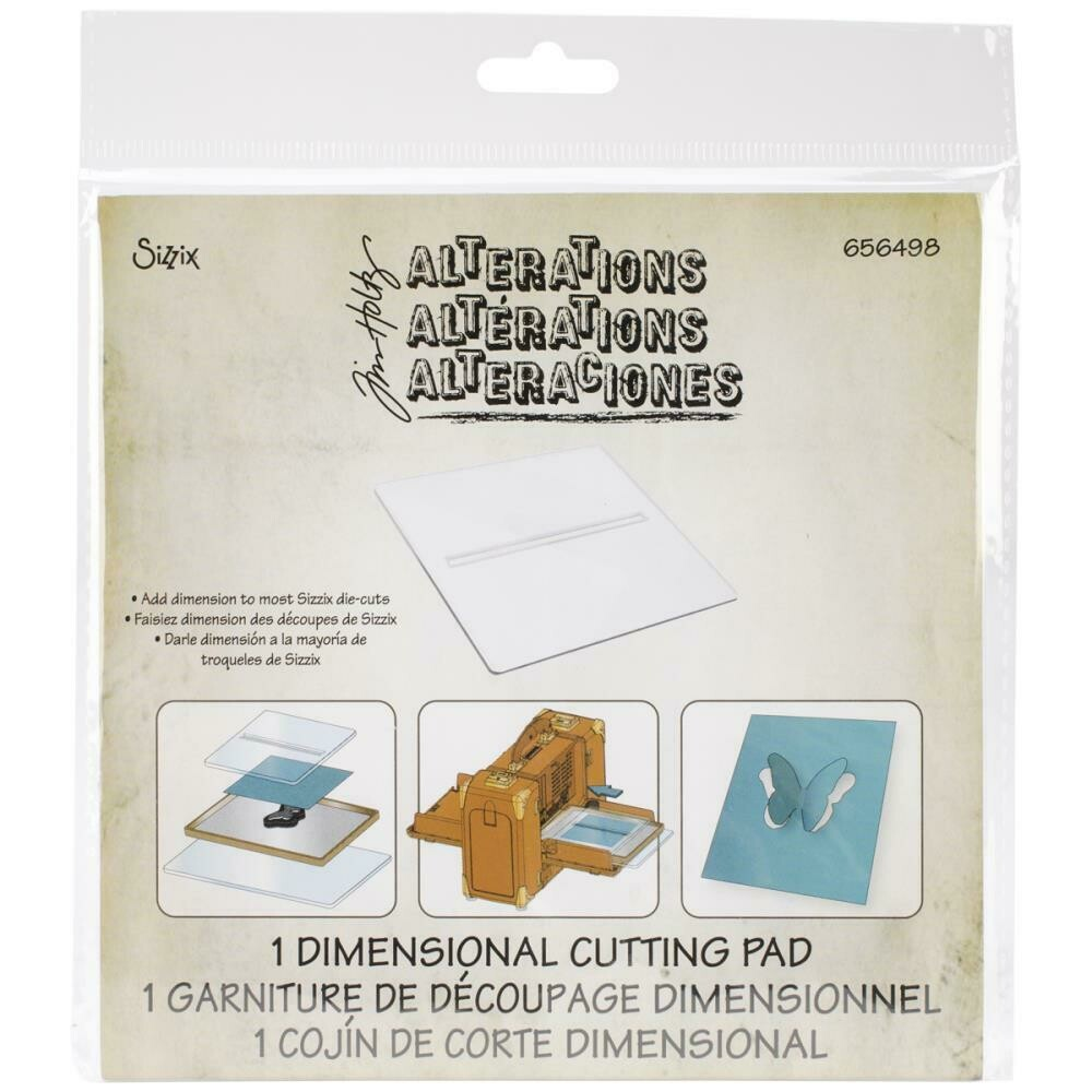 "Tim Holtz Sizzix BIGkick/Big Shot/Vagabond Cutting Pad Dimension 6""X6"""