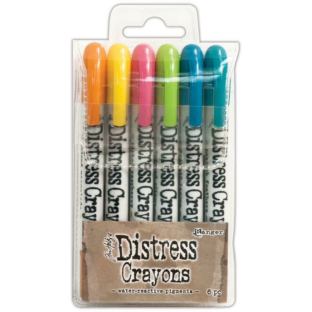 Tim Holtz Distress Crayons Sets - Assorted