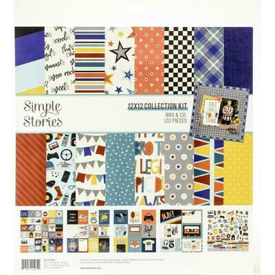 Simple Stories Bro & Co. - Assorted