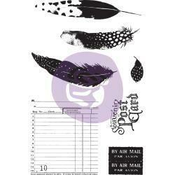 Prima Stamp and Stencil Set - Midnight Garden