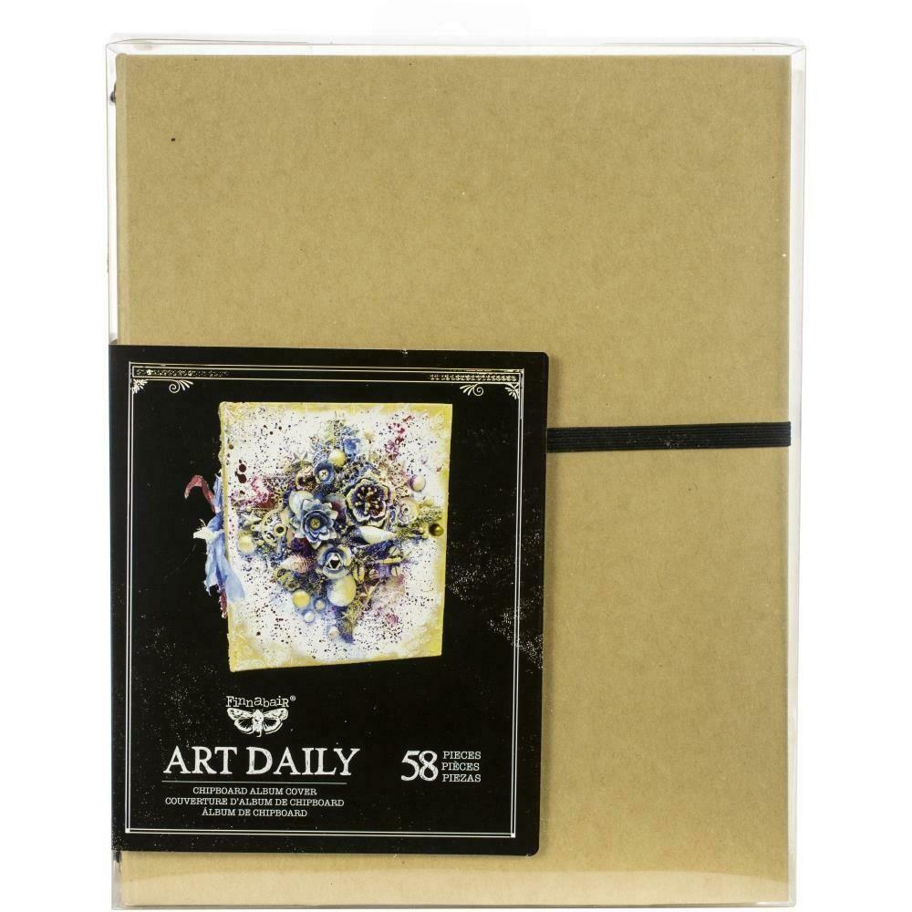 Finnabair Art Daily Album Set 58 pieces