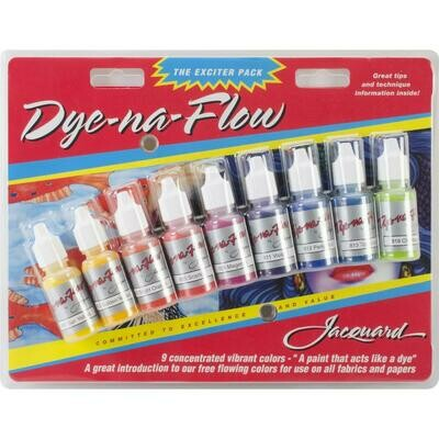 Jacquard Dye-na-Flow 9 piece set