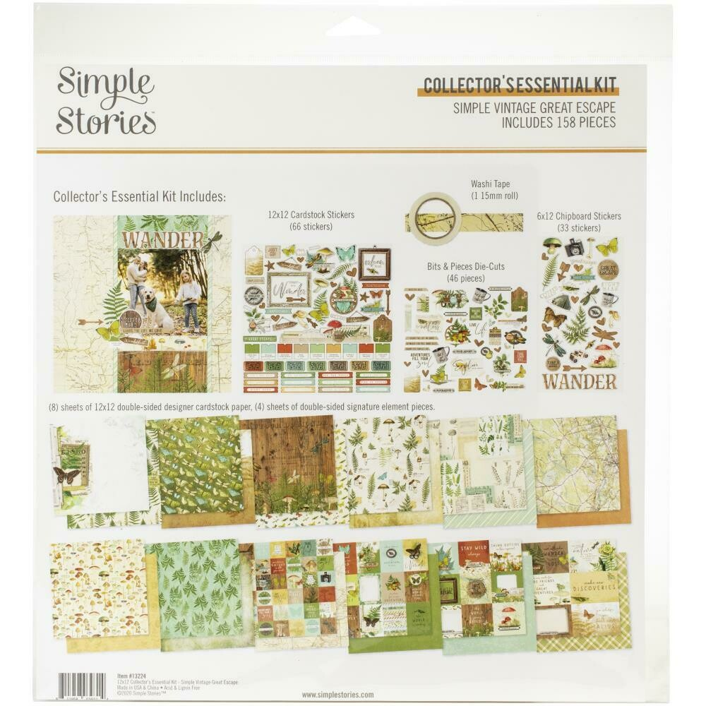 Simple Stories Vintage Great Escape - assorted
