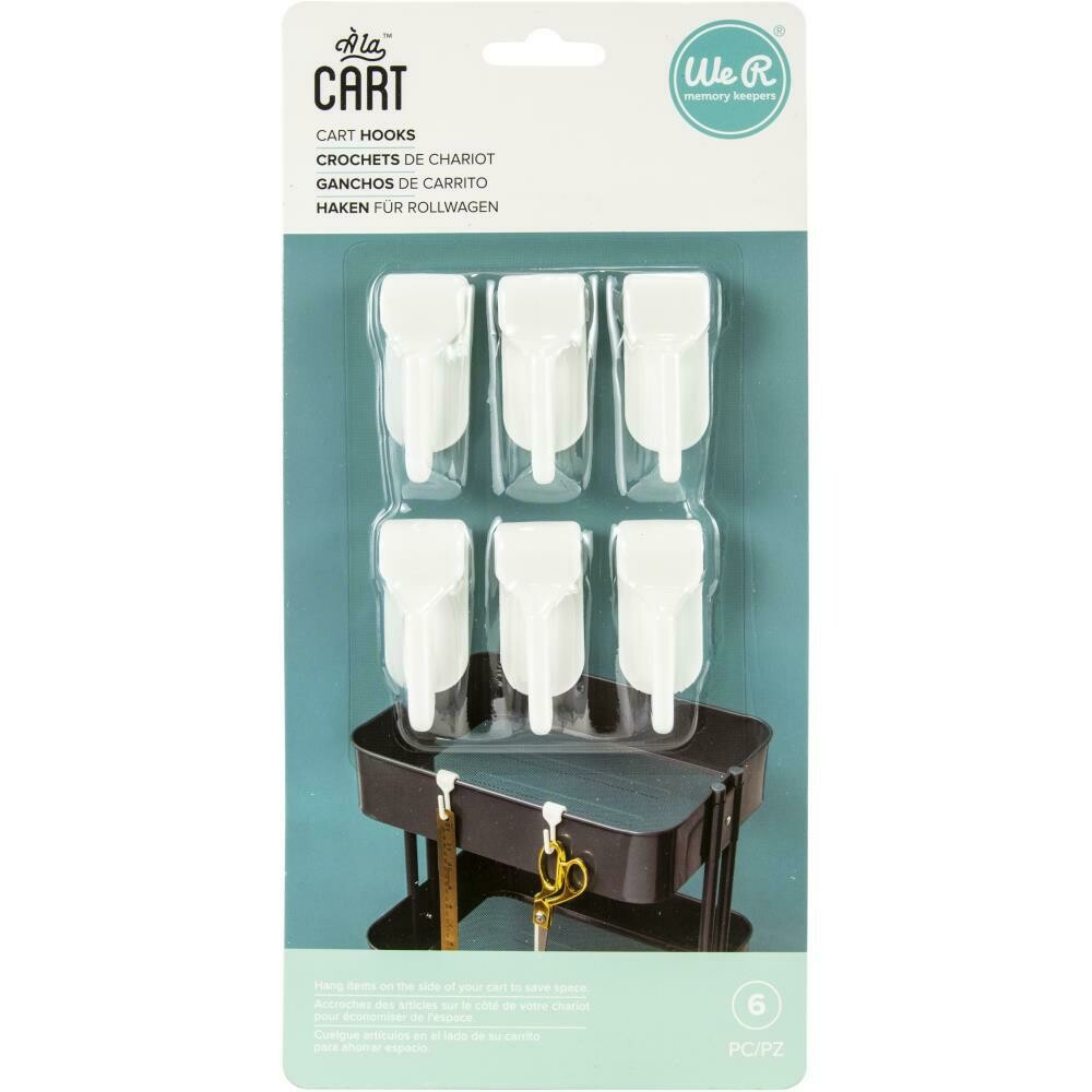 We R Memory Keepers Cart Hooks pkg/6