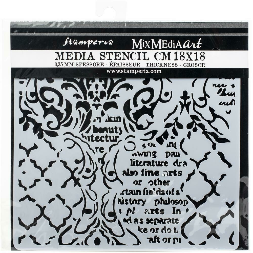 "Stamperia Stencil 7x7"" assorted"