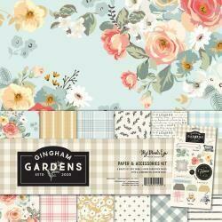 My Mind's Eye Gingham Gardens assorted
