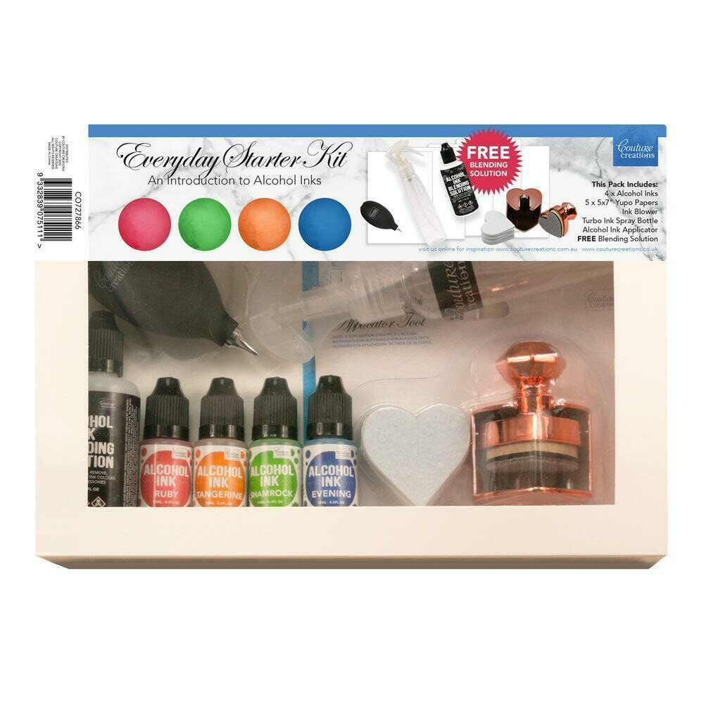 Couture Creations Alcohol Ink Starter Kits - assorted