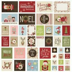 Simple Stories SN@P Cards Holly Jolly 48/pkg