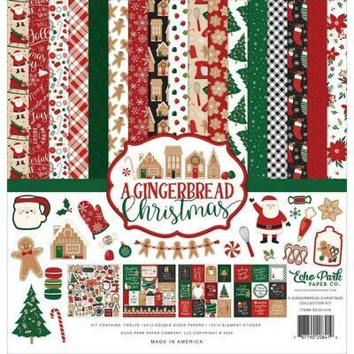 Echo Park - A Gingerbread Christmas assorted