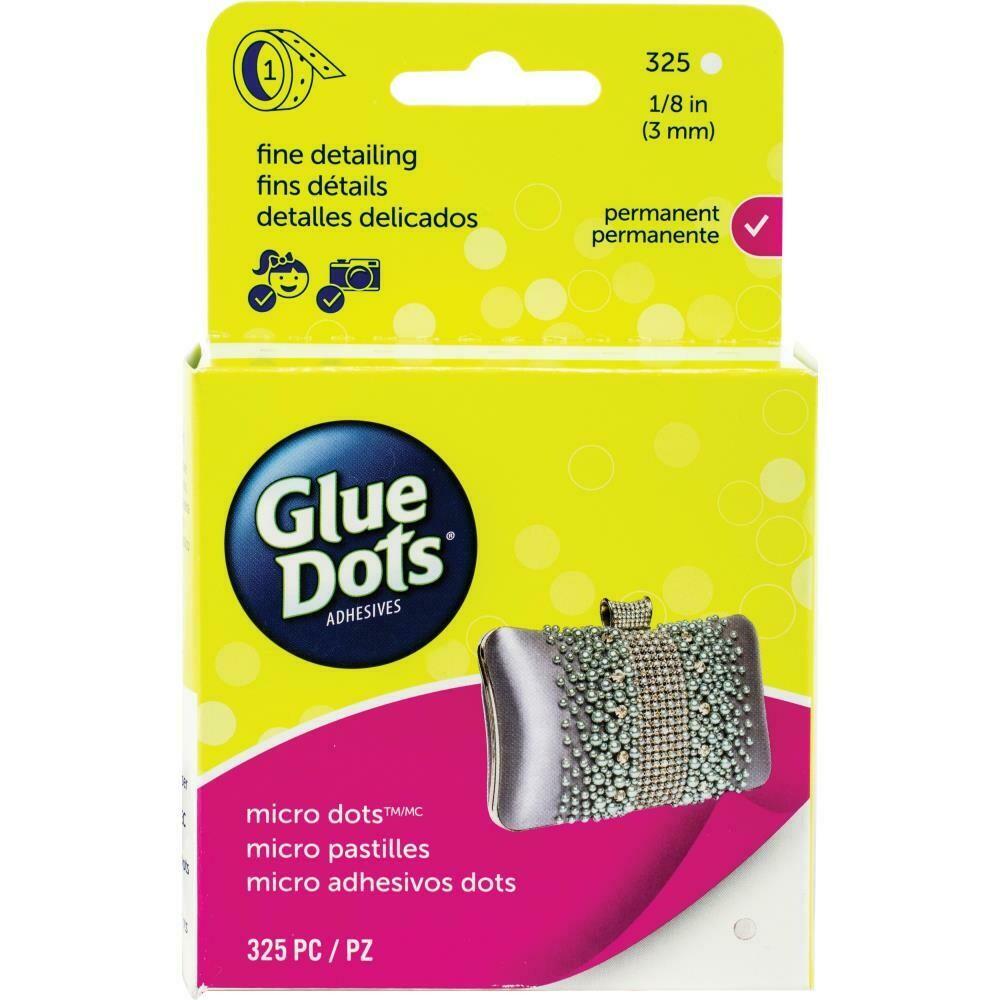 Glue Dots Adhesive - Micro Dots 325/pkg