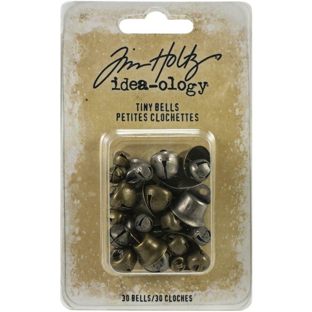 Tim Holtz Idea-Ology Tiny Bells 30/pkg