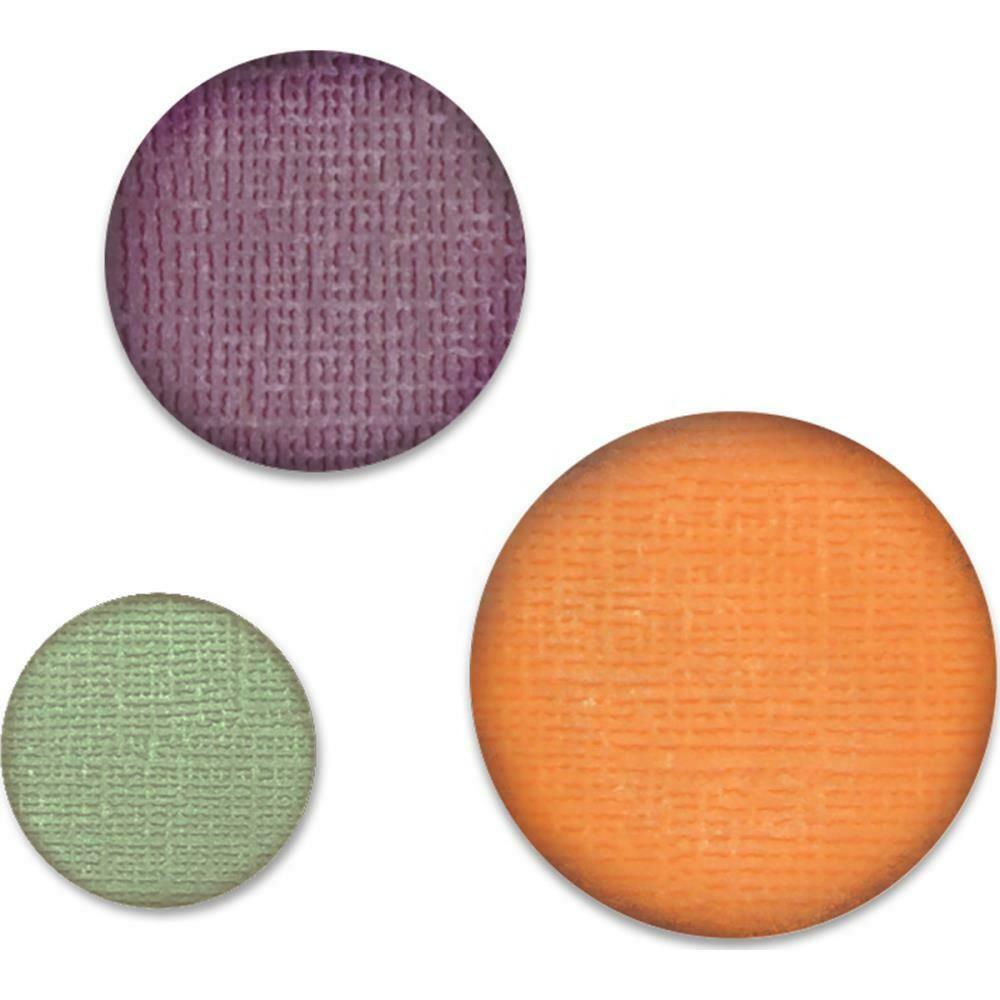 """Sizzix Paper Punch Bundle Circles, .75"""", 1"""", 1.25"""""""