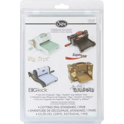 Sizzix BIGkick/Big Shot/Vagabond Cutting Pads 1 Pair