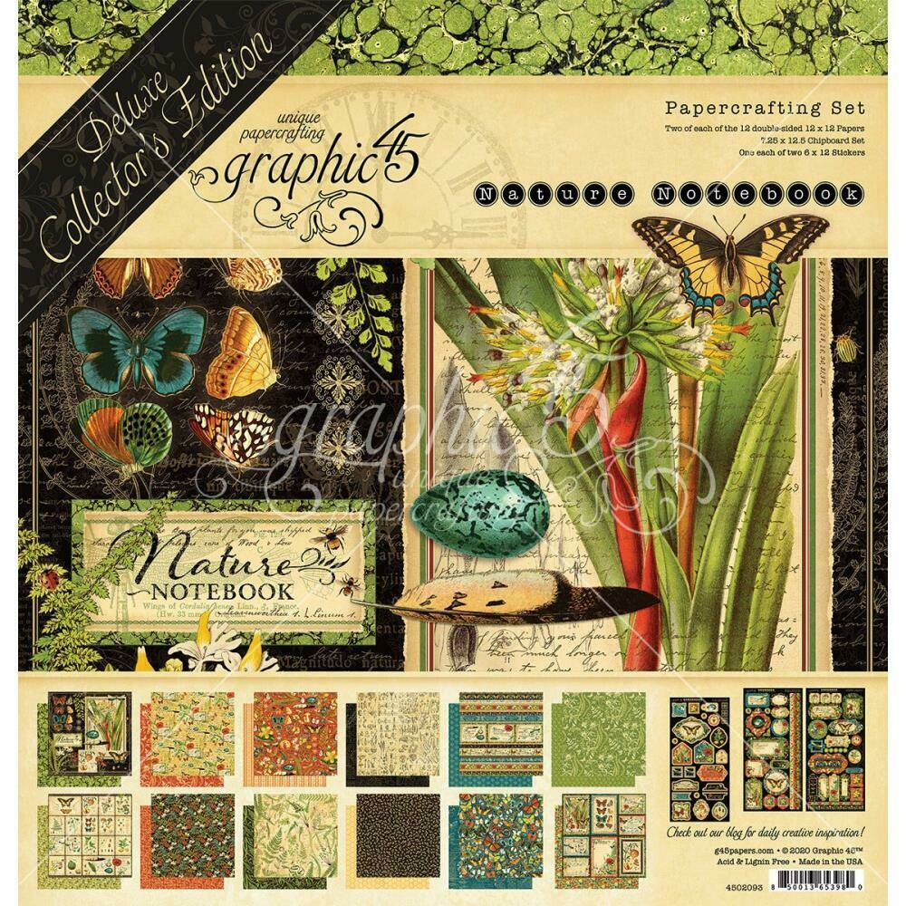 """Graphic 45 Deluxe Collector's Edition Pack 12""""X12"""""""