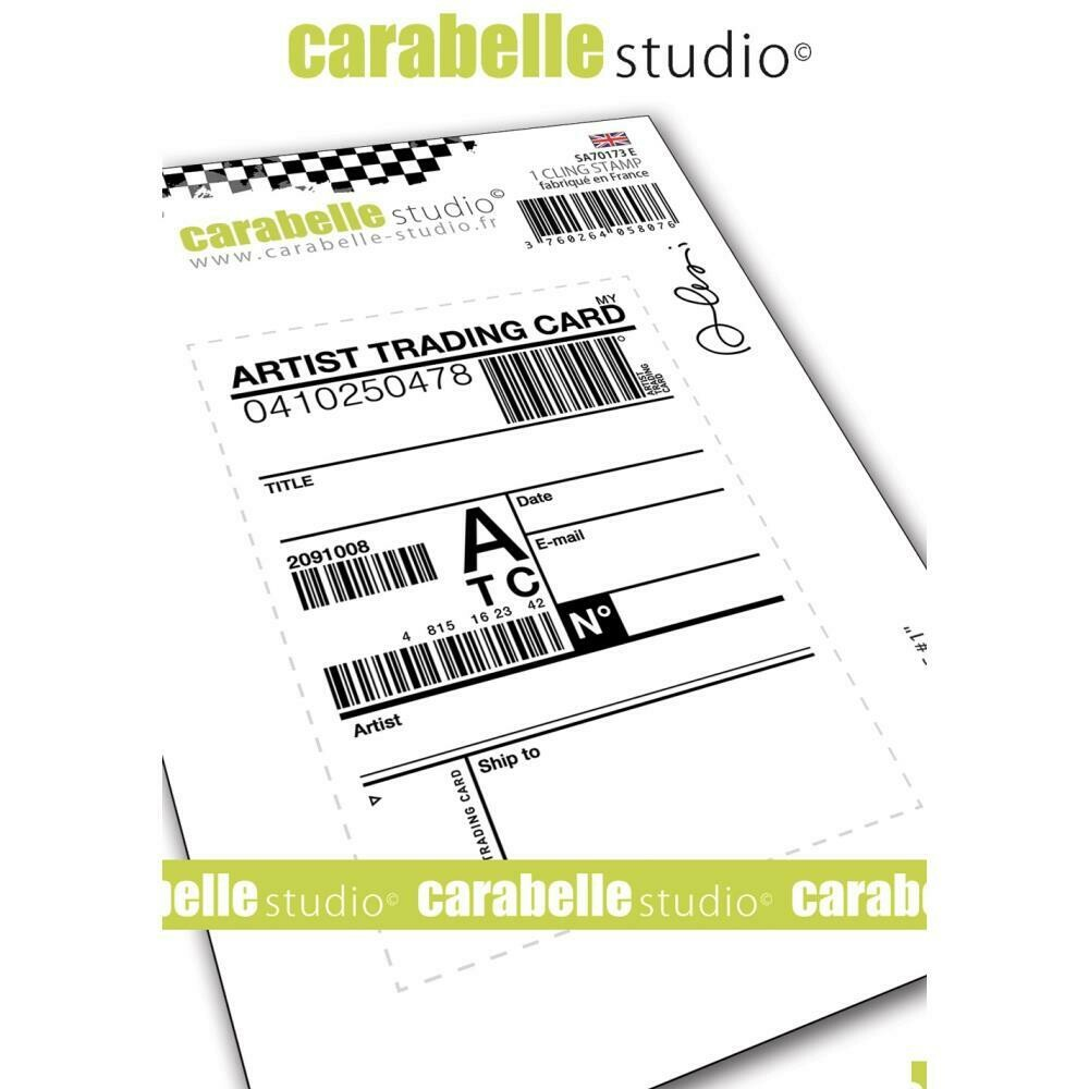 Carabelle Studio Background Cling Stamp A7 - Assorted
