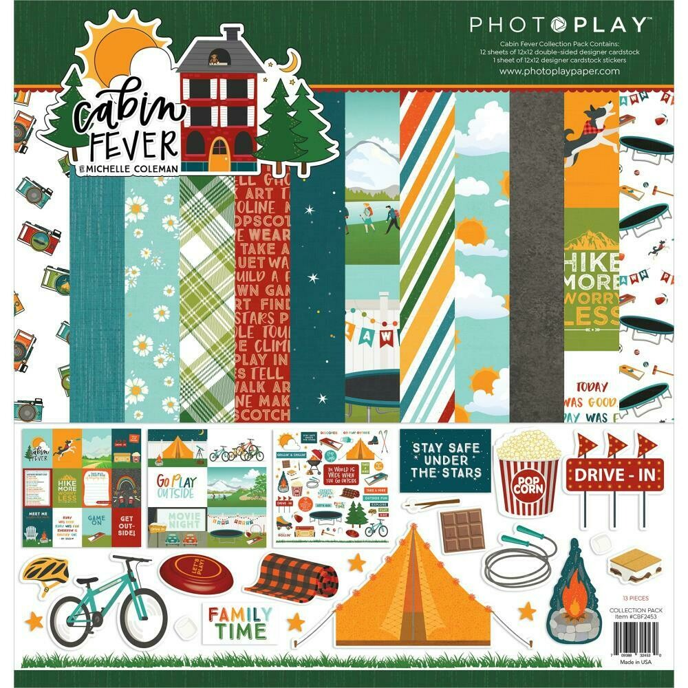 Photo Play Cabin Fever - Assorted
