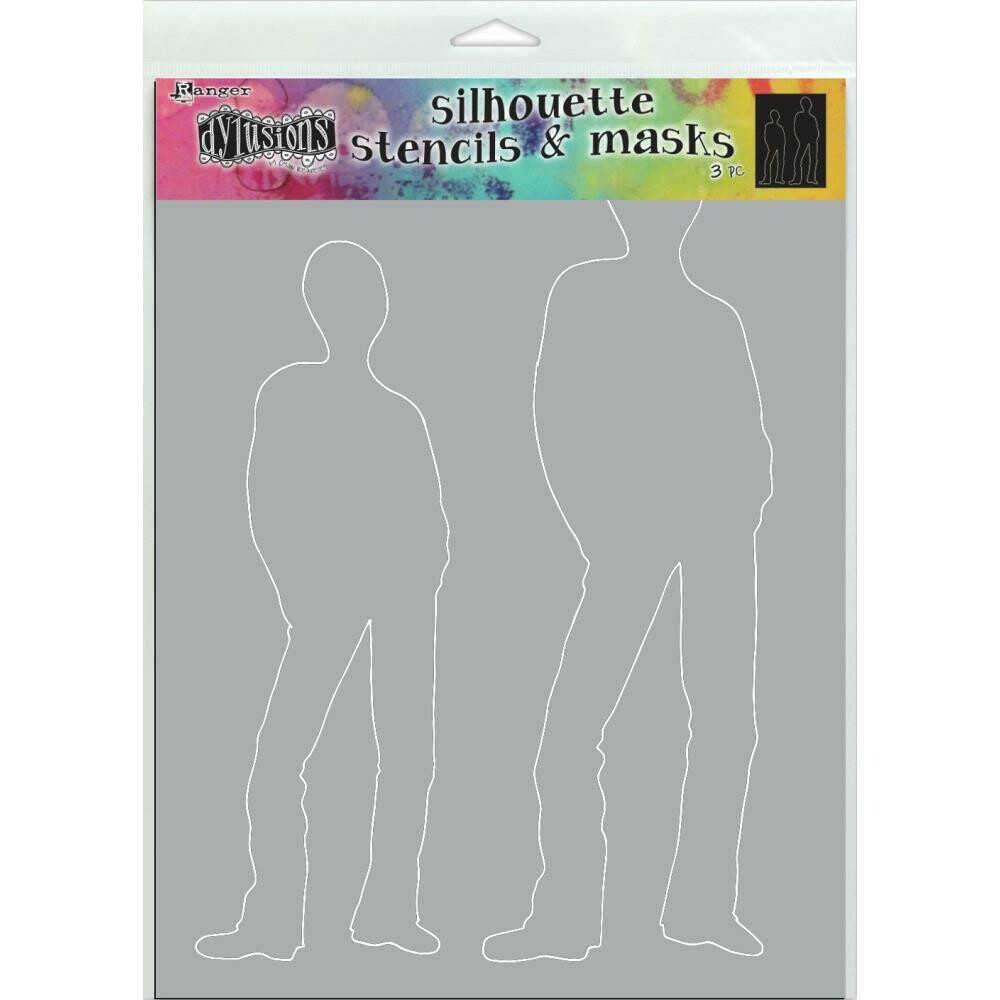 PREORDER Dylusions Stencil and Mask Large Tom