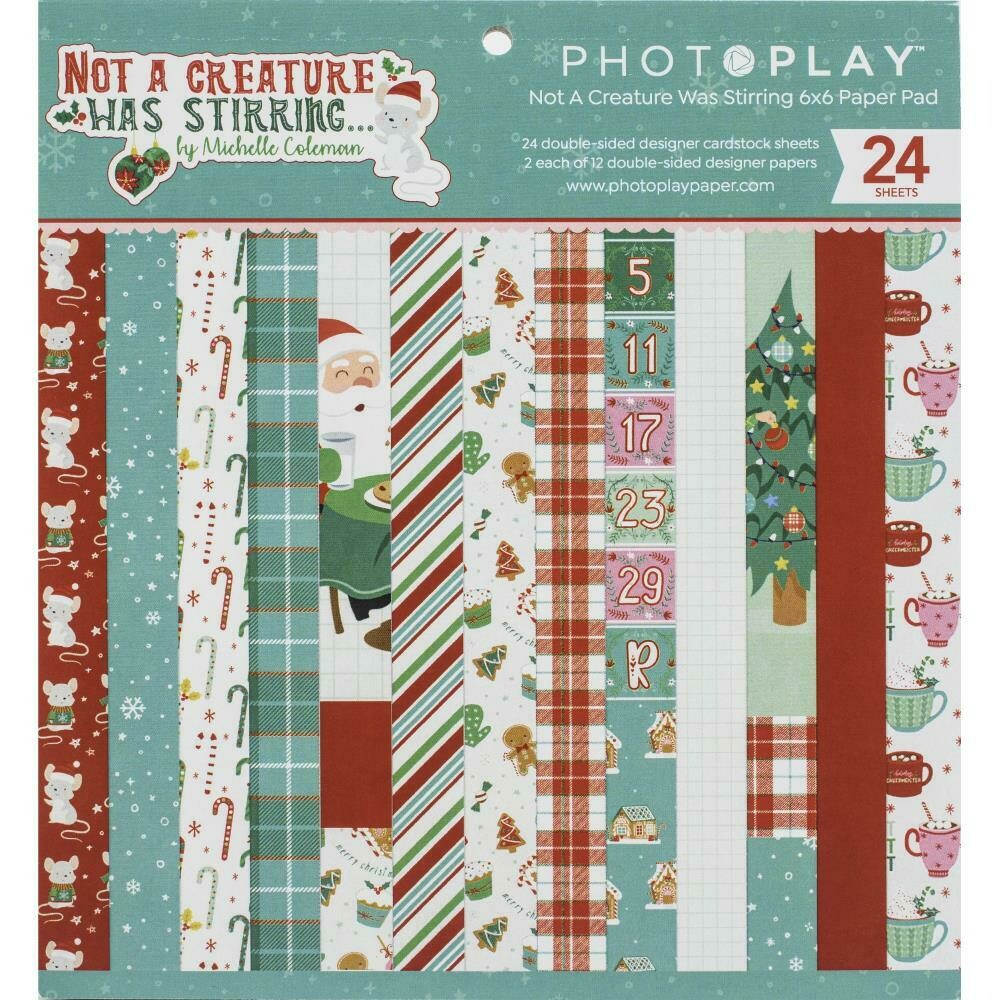 Photo Play - Not a Creature was Stirring - 6x6 Paper Pad