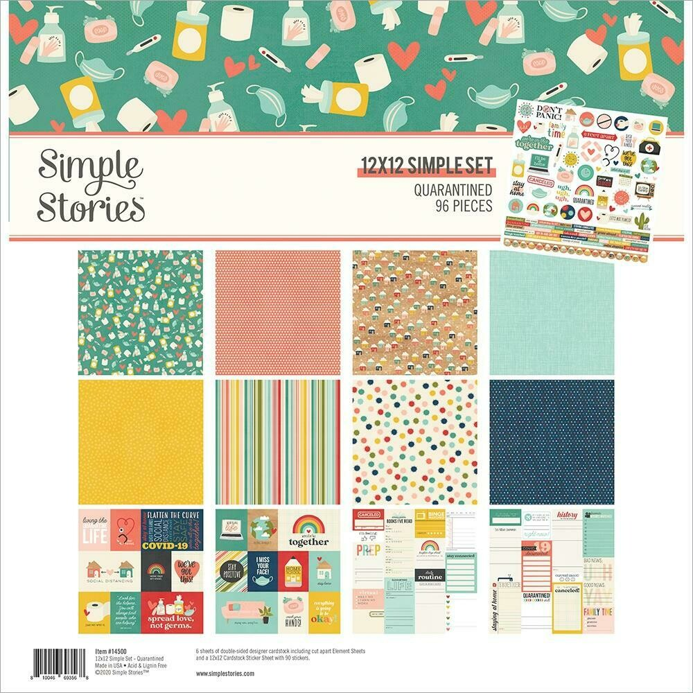 Simple Stories - Quarantined - 12x12 Collection Kit 96/pkg