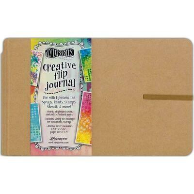 "Dylusions Creative Journal Kraft 8.5x5.3"""