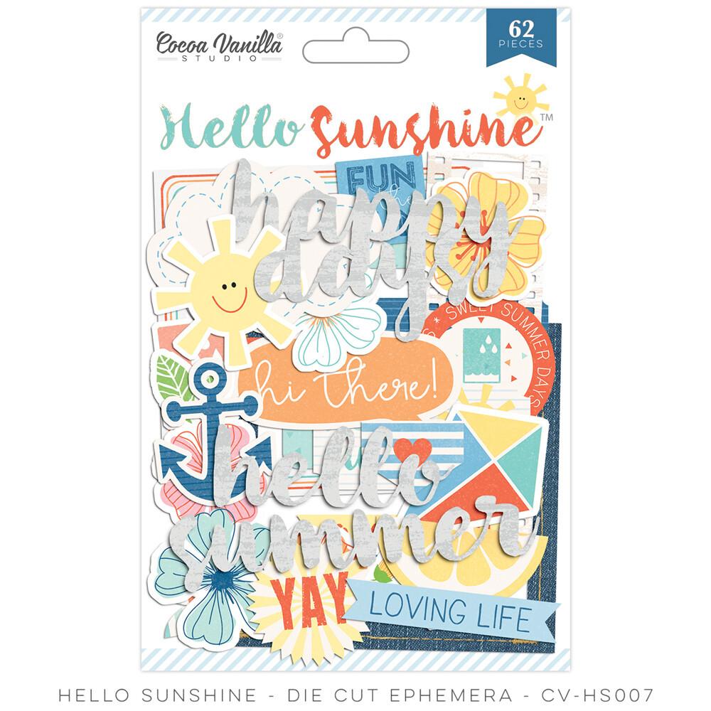 Cocoa Vanilla Hello Sunshine Collection - Assorted