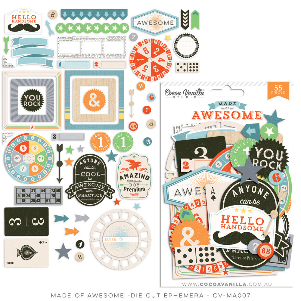 Cocoa Vanilla Made of Awesome Collection - Assorted