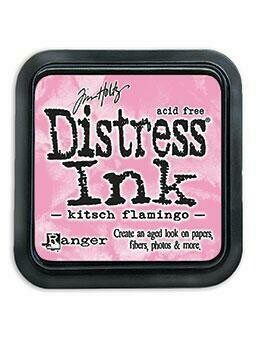 PREORDER Tim Holtz Distress Kitsch Flamingo Collection February 2021