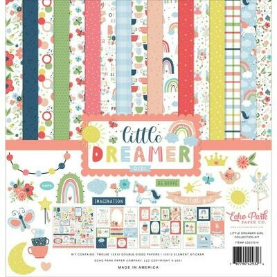 Echo Park Little Dreamer Girl Collection - Assorted
