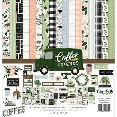 Echo Park - Coffee and Friends Collection - Assorted
