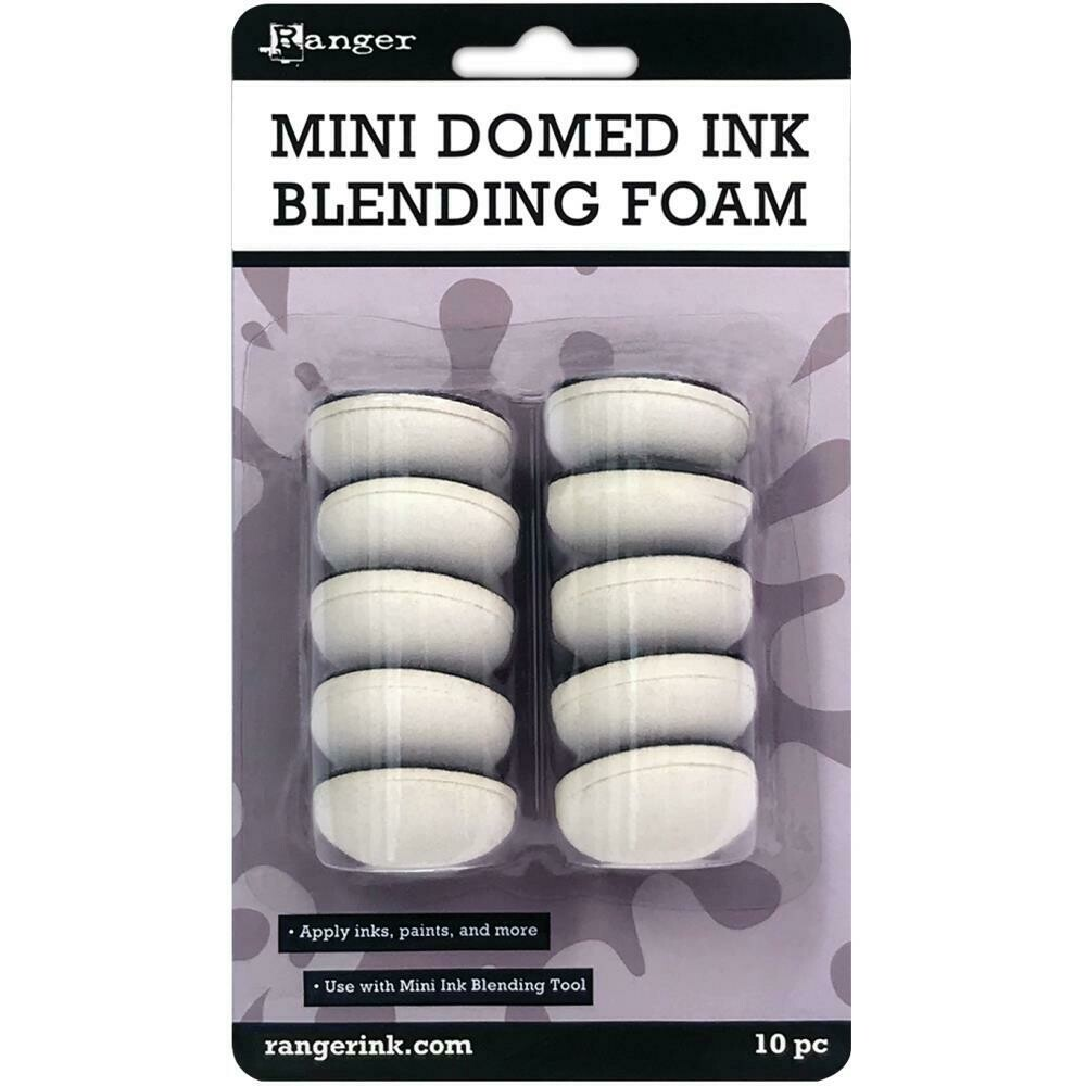 Ranger Mini Domed Ink Blending Foams 10/pkg