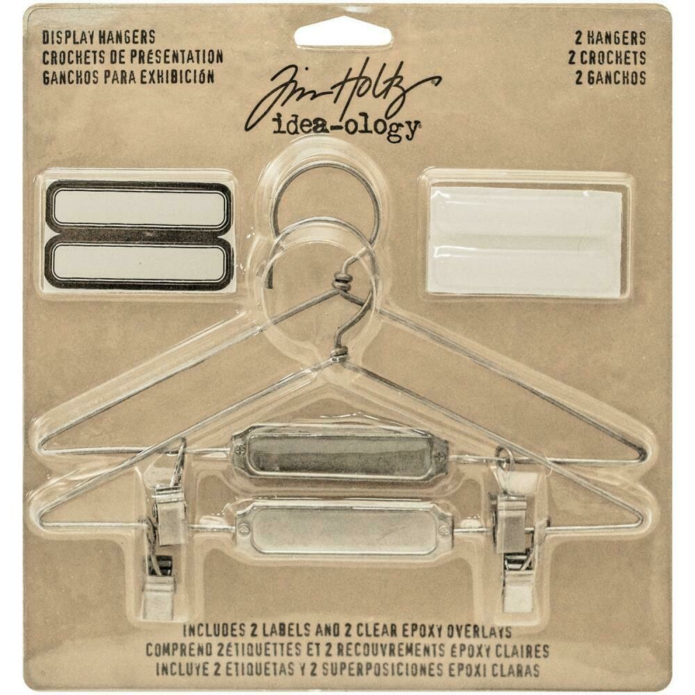 Tim Holtz Idea-Ology Display Hangers 2/pkg