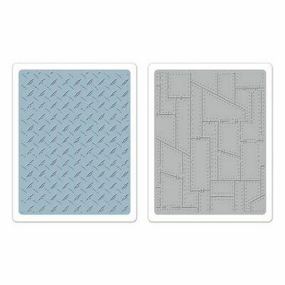 Tim Holtz Sizzix Texture Fades A2 set of 2