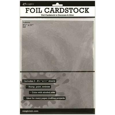 Ranger Foil Cardstock 3/pkg