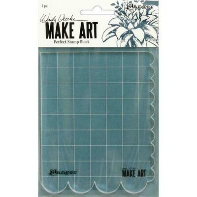 Wendy Vecchi Make Art Perfect Stamp Block