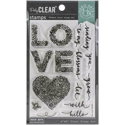 Hero Arts Stamp and Die set - Floral Love