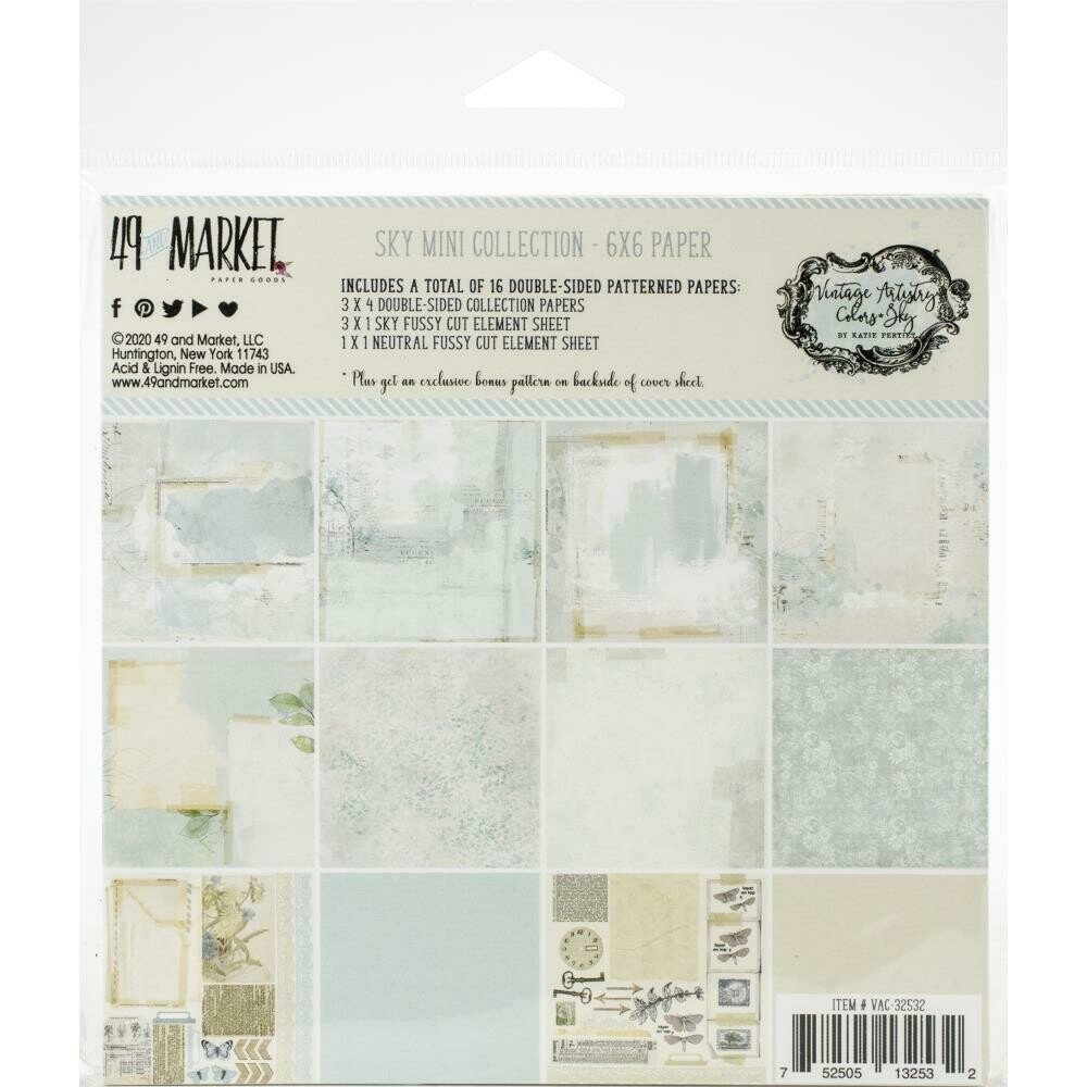 49 and Market Vintage Artistry Sky Collection - Assorted