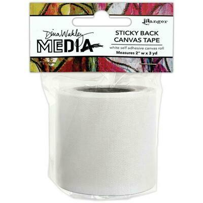 Dina Wakley Media Sticky Back Canvas Tape